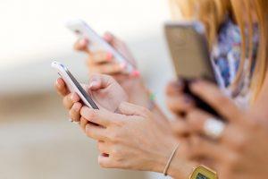 social phone advertising